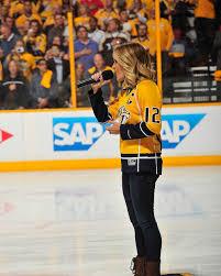 bentley college hockey country stars praise nashville u0027s hockey fandom