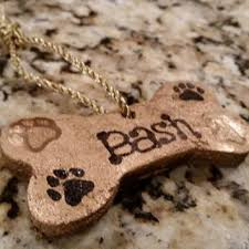 personalized bone ornaments from bashandemmastreats