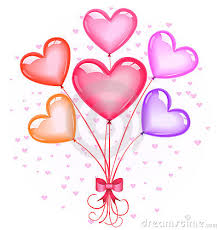 heart balloon bouquet heart shaped balloons party favors ideas