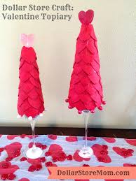 Pinterest Dollar Tree Crafts by Dollar Store Craft Valentine U0027s Day Topiary Dollar Store Crafts