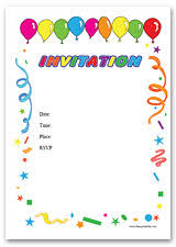 free birthday invitations best compilation of free birthday party invitations templates