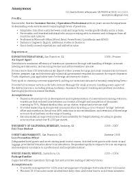 Resume Examples For First Job Sample Resume Example Sample Resume High No Work