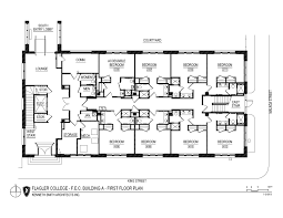 floor plans for fec buildings a b u0026 c by flagler college issuu