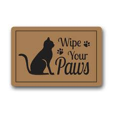 Wipe Your Paws Rubber Backed Wipe Your Paws Ebay