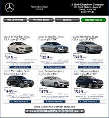 new car specials mercedes dealer near newton ma