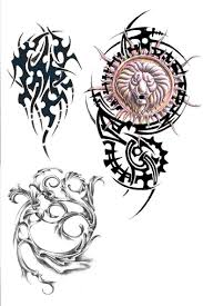 tribal aries tattoos designs