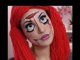 Puppet Doll Halloween Costume Creepy Rag Doll Halloween Makeup Tutorial Fantasy