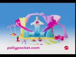 mattel polly pocket polly race u0027n splash