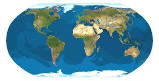 globe earth maps mapcarte 342 365 satellite map of earth by tom sant 1990