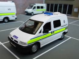 peugeot cars older models 1 43 code 3 peugeot expert essex police cell van model flickr