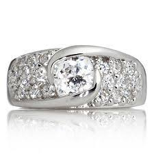 flat engagement rings platinum and diamond engagement ring flat setting wedding