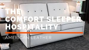 the comfort sleeper opening and closing hospitality youtube