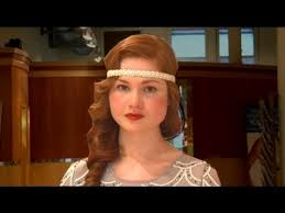 how to do 20s hairstyles for long hair get great gatsby hair 1920s wave and headband youtube