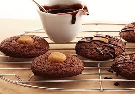 easy chocolate peanut butter brownie cookies duncan hines