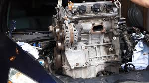 honda accord v6 3 0l engine swap removal j30a4 2003 2007 youtube