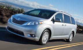 lexus minivan 2015 2017 toyota sienna first drive u2013 review u2013 car and driver