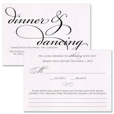 wedding invitation reception card wording sles paperinvite