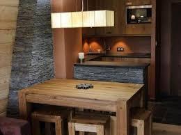 amenagement cuisine studio montagne montagne et prestige location d appartements et de chalets