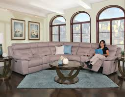 Seven Piece Reclining Sectional Sofa by Kane U0027s Furniture Sectionals