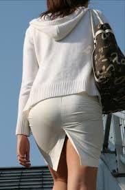 着物のパンティーライン|街撮り盗撮 女の脚やパンティーラインを激写してみた 37