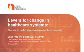 bureau of change levers for change in healthcare systems the of performance meas