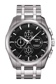 stainless steel bracelet tissot images Tissot couturier automatic chronograph t0356271105100 png