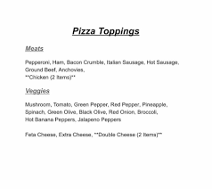 pizza place open thanksgiving mj u0027s gourmet pizza home kitchener ontario menu prices