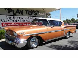chevy black friday sale 1958 chevrolet impala for sale on classiccars com 46 available