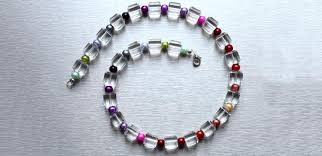 make crystal necklace images How to make crystal rainbow necklace diy your crystal beaded jpg