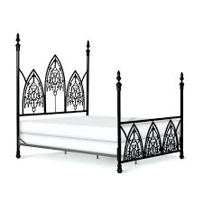 gothic metal bed frame bed frame bed frame gothic style metal bed