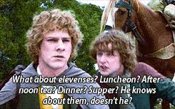 Second Breakfast Meme - lord of the rings