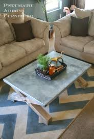 Refinishing Coffee Table Ideas by 80 Best Zinc Metal And Galvanized Steel Images On Pinterest