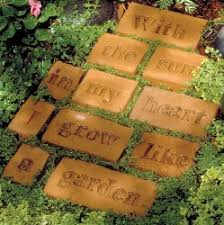 Herb Garden Gift Ideas Poetry Stepping Stones It Is Like A Marriage Of Practice Of