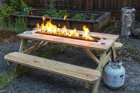 homemade fire pit table popular outdoor furniture with fire pit all home decorations