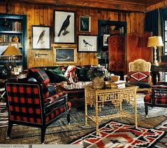 Adirondack Rustic Interiors Ralph Lauren Adirondack Style Doesn U0027t The Black And Red Color
