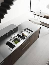 Modern Kitchen Sink Design by Brilliant Kitchen Design The Galley Sink With Sliding Accessories