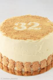 birthday cake spice cake white chocolate cream cheese