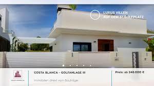 Immo Kaufen Costa Blanca Immobilien Villa In Ibiza Look Auf Golfanlage 3