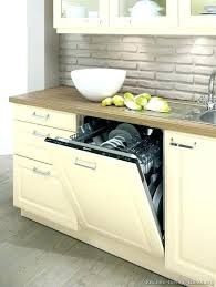 installing a dishwasher in existing cabinets cabinet for dishwasher installing kitchen cabinets kenmore seal kit