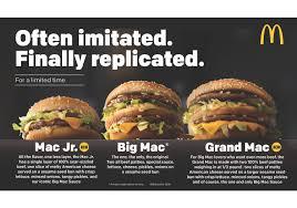 mcdonald s adds new size options to its big mac burger money