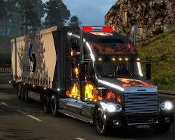 freightliner freightliner coronado v2 0 truck euro truck simulator 2 mods