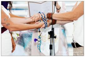 handfasting cords colors adding the handfasting ritual to your wedding ceremony canada