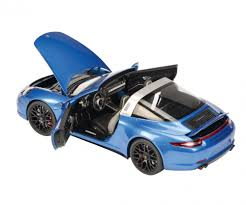 porsche toy car porsche 911 targa 4 gts blue metallic 1 18 edition 1 18 car