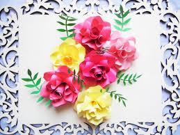 how to make diy paper roses