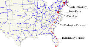 map us route 1 map us highway 1 major tourist attractions maps