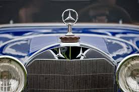 1929 mercedes s erdmann and cabiolet ornament