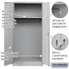 Heavy Duty Storage Cabinets Heavy Duty Storage Cabinet Wardrobe 24 Inches Deep Lockers Com