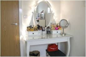 Small Space Bedroom Furniture Vanity Table For Small Space Hexagonal Storage For Mirror Wall Of
