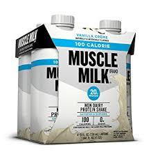 Amazon Com Muscle Milk 100 Calorie Protein Shake Vanilla Crème