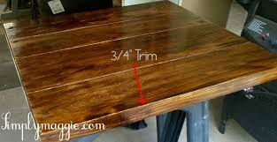 Build A Solid Wood Table Top by Diy Wide Plank Butcher Block Counter Tops Simplymaggie Com